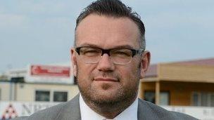 Former Nuneaton Town chief executive Ian Neale