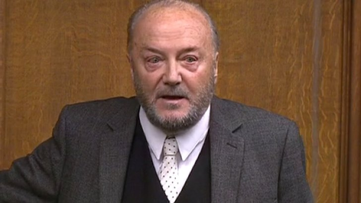George Galloway in the Commons