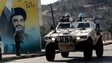 UN vehicle in southern Lebanon (19/01/15)