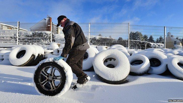 Snow 29 January 2015