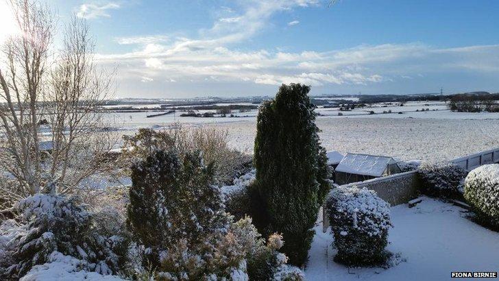 Browney village