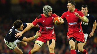 Wales v Scotland in the 2014 Six Nations