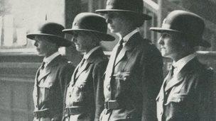 Policewomen in 1923