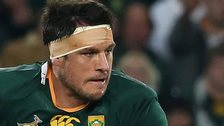 Pierre Spies in action for South Africa