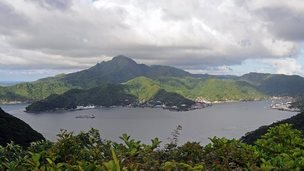 A view of American Samoa