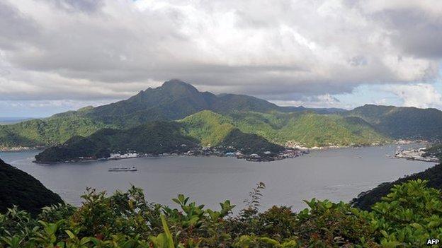 A view of American Samoa