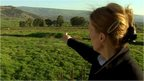 Orla Guerin reports from a vantage point overlooking Shebba farms