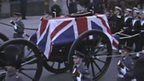 Winston Churchill's funeral