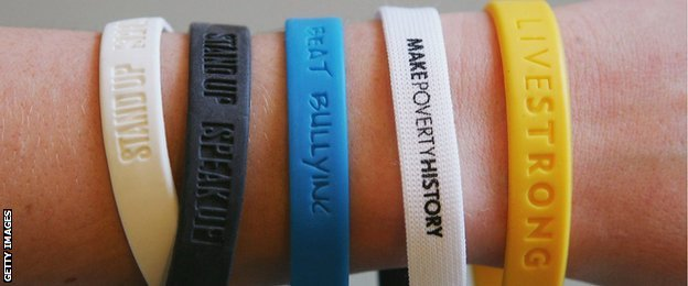 The Livestrong wristband