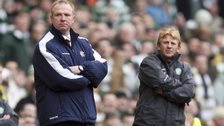 Alex McLeish and Gordon Strachan