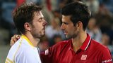 Stan Wawrinka and Novak Djokovic