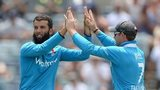 Moeen Ali dismisses Suresh Raina