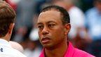 Woods struggles on PGA Tour return