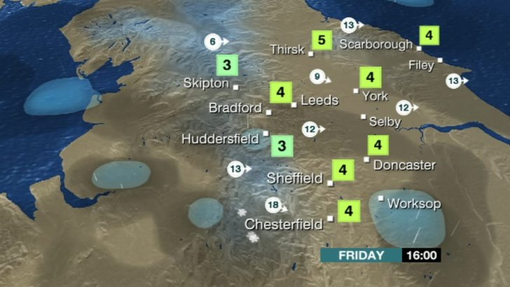 BBC Weather 30 January 2015
