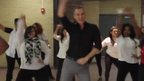 A. Maceo Smith New Tech High School's Uptown Funk dance