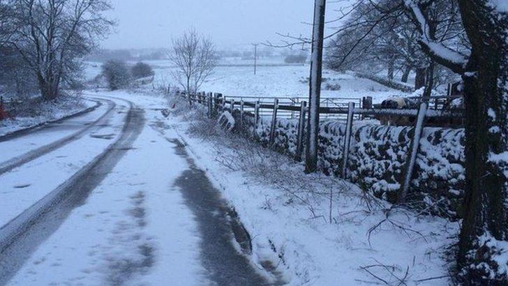 Snowy Staffordshire