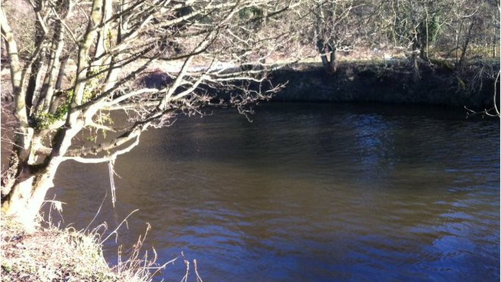 Scene of the River Wear rescue