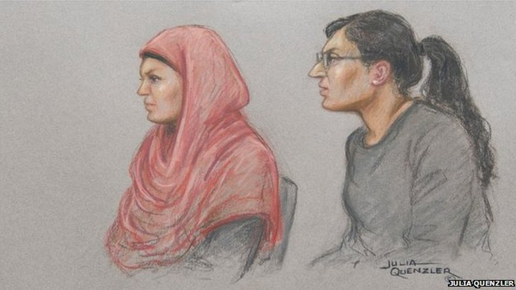 Polly Chowdhury (left) and Kiki Muddar (right)