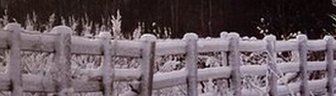 Snowy sunrise in Consett, County Durham