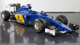 The new Sauber C34-Ferrari