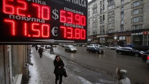 Rouble exchange rates, Mosocw