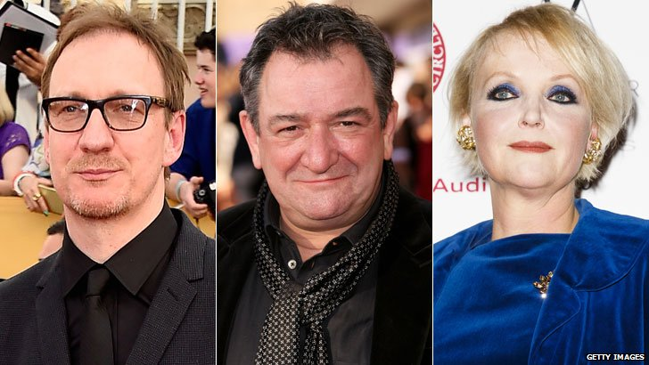 David Thewlis, Ken Stott and Miranda Richardson