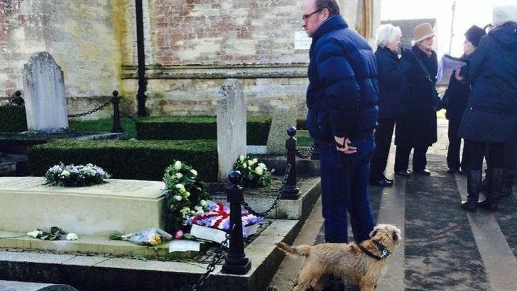 Churchill's grave