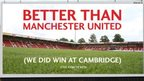 Fans buy better than Man Utd board