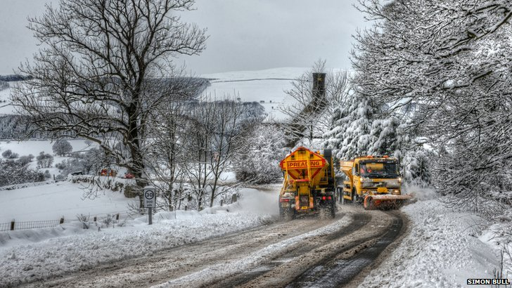 Hathersage gritters
