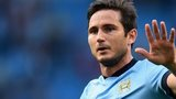 Man City midfielder Frank Lampard