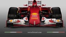 the 2015 Ferrari F1 car