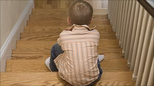 Boy on stairs (file pic) [Image: Jupiter]