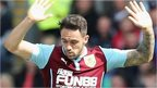 Burnley striker Danny Ings