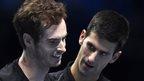 Andy Murray Novak Djokovic