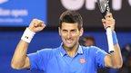 VIDEO: Djokovic relishing Murray final