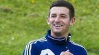 Hearts midfielder Jason Holt