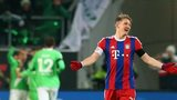 Munich's Schweinsteiger unhappy after his team conceded a goal