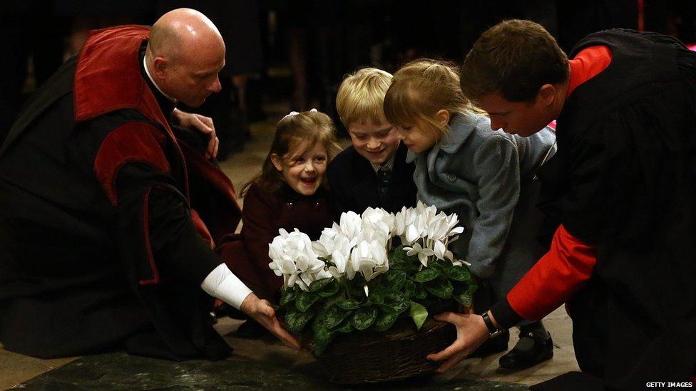 Churchill's great-great grandchildren