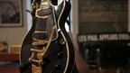 Les Paul guitar known as the 'Black Beauty'