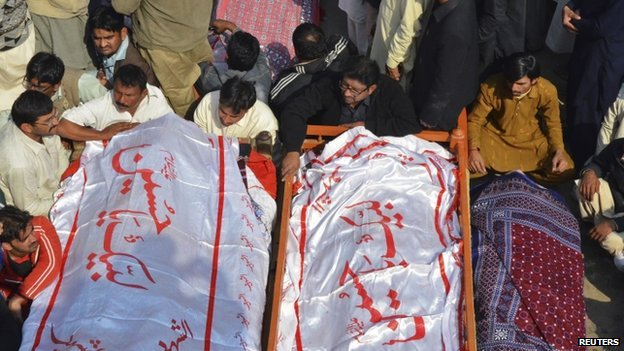 80693787 025669573 1 - Pakistan mosque blast: Mass funeral for Shia victims