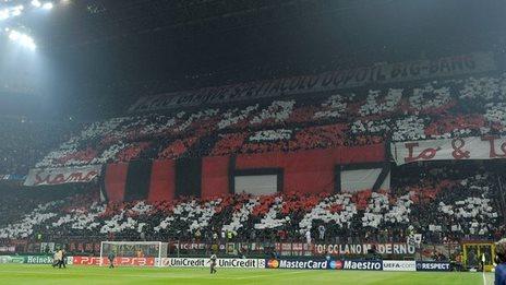 The San Siro Stadium, Milan