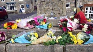 the Cross in Corfe Castle square