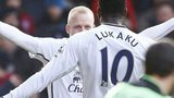 Steven Naismith and Romelu Lukaku