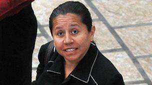 Maria del Pilar Hurtado, 22 Nov 2010, Panama City