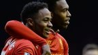 Raheem Sterling and Daniel Sturridge
