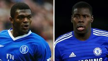 Marcel Desailly and Kurt Zouma