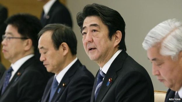 Shinzo abe condemned the killing of mr goto calling it a quot heinous act