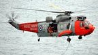 Royal Navy search and rescue helicopter