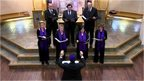 Members of the Belsize Square Synagogue choir