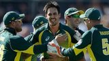 Australia congratulate Mitchell Johnson